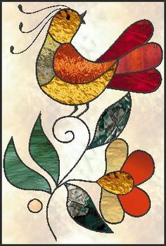 Stained Glass Quilt, Stained Glass Ornaments, Stained Glass Birds, Faux Stained Glass, Stained Glass Designs, Stained Glass Panels, Stained Glass Projects, Stained Glass Patterns, Mosaic Art