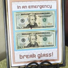 Cool money gift