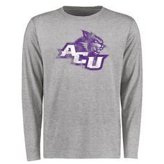 Abilene Christian University Wildcats Big & Tall Classic Primary Long Sleeve T-Shirt - Ash - $29.99 https://www.fanprint.com/licenses/abilene-christian-wildcats?ref=5750 https://www.fanprint.com/licenses/akron-zips?ref=5750