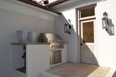 knight residential group * built in grill