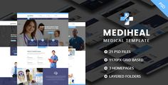MediHeal - Medical Hospital PSD Template - Corporate PSD Templates Download here : https://themeforest.net/item/mediheal-medical-hospital-psd-template/19056441?s_rank=436&ref=Al-fatih