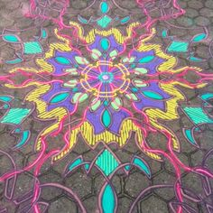 Colored Sand Painting By Joe Mangrum | ideaing