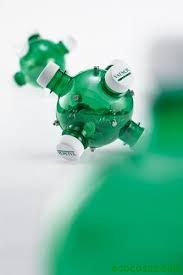 Resultado de imagen para alcancias de reciclaje en botellas de plastico