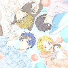 Free! Iwatobi Swim Club -- this is seriously one of my favorite series EVER