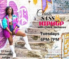 Please welcome LaChanee to the CED staff! Class & Sass Hip Hop will be offered as a weekly class starting Tuesday July 11th! @mrs_lachanee #hiphop #hiphopdance #hiphopclass #class #sass #classandsasshiphop #dance #danceclass #twerk #cleveland #cle #clevelandexoticdance #ced