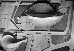 Piscinas Cubiertas Juegos Olímpicos Tokio 1964