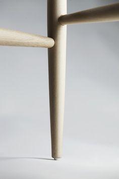 Pelleossa chair by Francesco Faccin #design #wood #skin #bone #chair