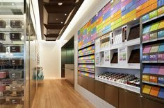 100% Chocolate Cafe.   Sky Tree Solamachi by Wonderwall, Tokyo  store design
