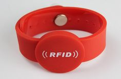 RFID Wristbands-printing services,Factory price Low Cost