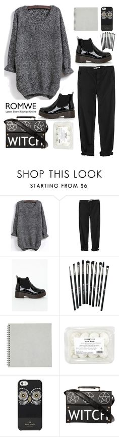 """""""Dgann&Harru"""" by dganna ❤ liked on Polyvore featuring GG 750, Missguided, Revolution and Kate Spade"""