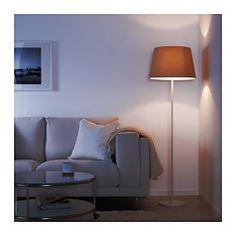 RODD Floor lamp base with LED bulb, white - IKEA