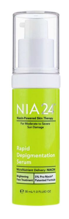 NIA24 Rapid Depigmentation Serum - There are 2 100% dupes for this product! Click to go to skincaredupes.com to see them.