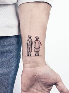 Small and Adorable Tattoos by Ahmet Cambaz from Istanbul Small and Adorable Tattoos by Ahmet Cambaz from IstanbulAhmet Cambaz is an amazing tattoo artist located in Istanbul, Turkey. Mama Tattoo, Tattoo For Son, Tattoos For Daughters, Grace Tattoos, Boy Tattoos, Tattoos For Guys, Tatoos, Cool Small Tattoos, Cool Tats