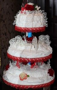 Wedding Cake - My Cute Baker This is the second wedding cake we have made! Please check it out and try the recipes! Second Weddings, Wedding Cakes, Cute, Check, Desserts, Recipes, Food, Wedding Gown Cakes, Tailgate Desserts