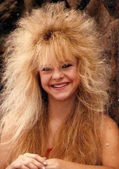 coiffure longue des annees 80