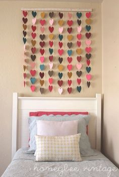 Wall hanging - children's room possibility for collaborative project near Valentine's Day