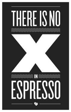 Exactly. #coffee #spelling #espresso