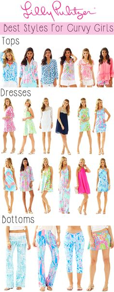 Lilly Pulitzer Best Styles for Curvy Girls
