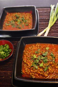 Curry Lentil Soup {vegan & gluten-free}