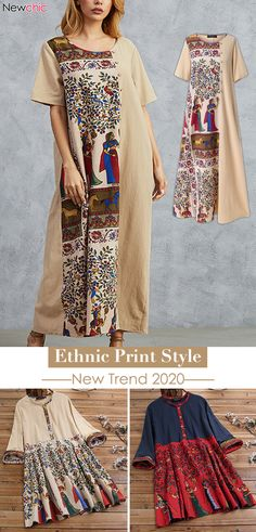 Nieuwe Trend Get More Idee! Classy Nail Designs, Dresses For Less, Ethnic Print, New Trends, Fashion Prints, Trendy Fashion, Designer Dresses, Kimono Top, Spring