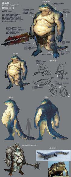 Hombre cocodrilo