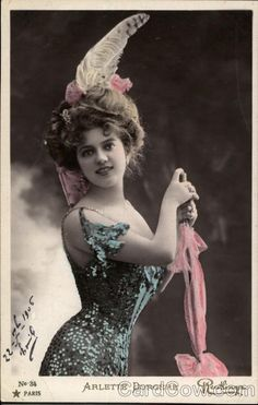 Arlette Dorgere - French Stage Actress