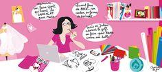 Faire part original créatif Mariage Naissance Paris - Elsa Faire part