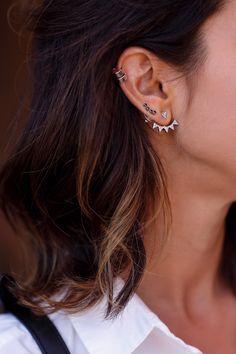 Ear cuff & Ear jacket