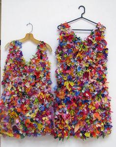 Цветочный карнавал или дизайнерское платье своими руками - Ярмарка Мастеров - ручная работа, handmade