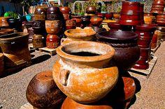 Santa Fe NM Colors | Colors of Pottery at Jackalope, Santa Fe, NM | Flickr - Photo Sharing!