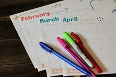 2014 Blog Calendar