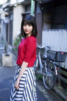 高橋ひかる Japanese Beauty, Japanese Fashion, Gravure Photo, Cute Japanese Girl, School Girl Outfit, Japan Girl, Japanese Models, Sweet Dress, Hottest Models