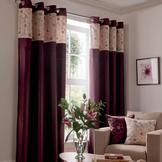 Plum Yasmine Curtain Collection  #pinittowinit #dunelm