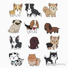 Милая подборка 12 dogs in 2019 cute animal drawings kawaii, cute drawings, cute Cute Dog Drawing, Cute Animal Drawings, Animal Sketches, Kawaii Drawings, Cartoon Drawings, Cute Drawings, Kawaii Doodles, Cute Doodles, Chibi Dog