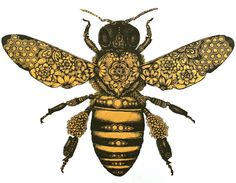 I love Bumble bees. This would be an amazing tattoo