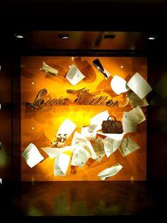 Louis Vuitton  - love letters - Jan. 2013 - London via @Chameleon Visual