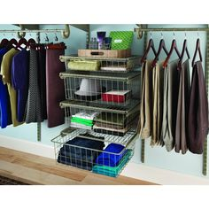 Beautiful ClosetMaid ShelfTrack 21 In. X 17 In. Ventilated Wire 4 Drawer Kit In