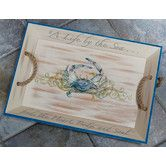 Found it at Wayfair - Rightside Design I Sea Life Crab Serving Tray