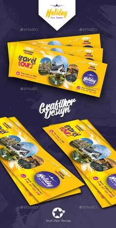 Buy Travel Tours Cover Templates by grafilker on GraphicRiver. Travel Tours Cover Templates Fully layered INDD Fully layered PSD 300 Dpi, CMYK IDML format open Indesign or late. Facebook Cover Design, Facebook Timeline Covers, Banners, Web Banner, Postcard Template, Cover Template, Social Media Banner, Social Media Design, Ad Design
