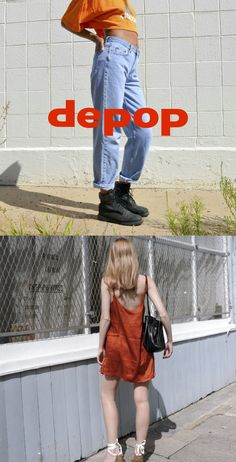 Depop. The social shopping app all your friends are using. Women Wear 5f3c8c672