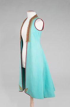 Coat  first quarter 20th century Culture: Albanian Medium: wool, metal Dimensions: 31 1/2 x 44 7/8 in. (80 x 114 cm)