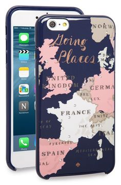 kate spade new york 'going places' iPhone 6 Plus