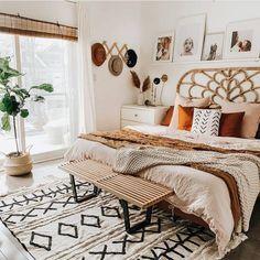 Home Decoration Living Room .Home Decoration Living Room Boho Bedroom Decor, Boho Room, Room Ideas Bedroom, Dream Bedroom, Home Bedroom, Bedroom Designs, Modern Bedroom, Blush Bedroom, Master Bedroom
