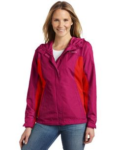 Columbia Women`s Silver Falls Rain Jacket $40.65