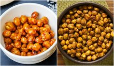 Reach for these delicious and enticing roasted chickpeas when you get the urge to snack.