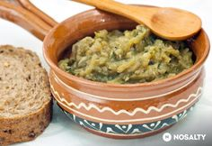 Cukkinis kence | NOSALTY Ketogenic Recipes, Diet Recipes, Vegetarian Recipes, Keto Results, Hungarian Recipes, Hungarian Food, A 17, Keto Dinner, Guacamole