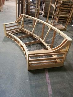 Custom Sofa made from Canadian lumber