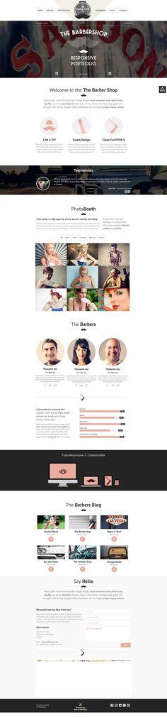 Creative New Wordpress Portfolios With Beautiful Design