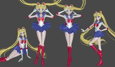Sailor Moon Manga mesh mod by Lopieloo on DeviantArt Princesa Serenity, Sailor Moon Usagi, Princess Zelda, Disney Princess, Video Game, Disney Characters, Fictional Characters, Aurora Sleeping Beauty, Deviantart
