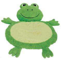 frog baby mat
